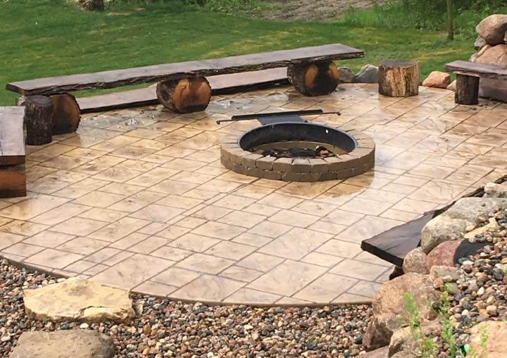 Residential Concrete Fire Ring
