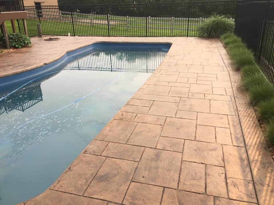 Residential Pool Concrete
