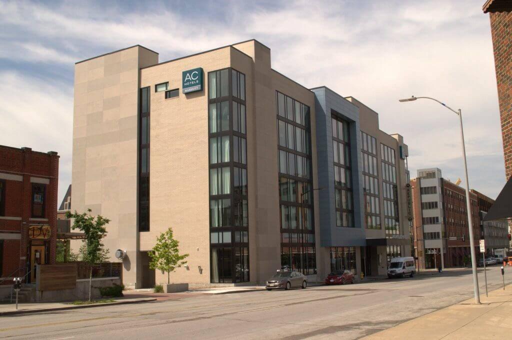 AC Hotel in Des Moines Iowa