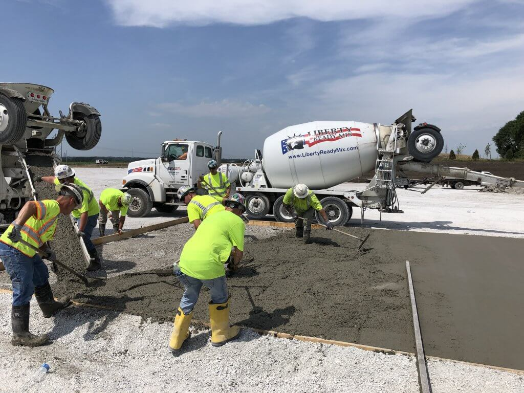 Commercial Concrete Project