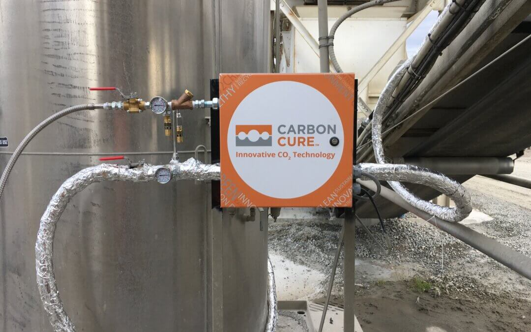 CarbonCure Valve Box Infront of Gas Tank